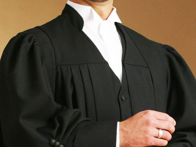 Why lawyers and judges wear black coats?